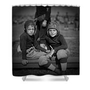Gridiron Pals Shower Curtain