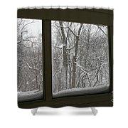 Grief #2 Shower Curtain