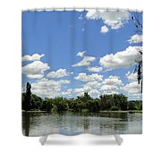 Griffin Lake Shower Curtain