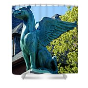 Griffin Natural Color Shower Curtain