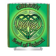 Griffin Soul Of Ireland Shower Curtain
