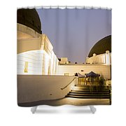 Griffith Park Observatory No. 3 Shower Curtain
