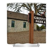 Griffith Quarry Park And Museum Penryn California Shower Curtain