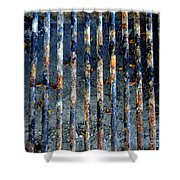 Grill Abstract Shower Curtain