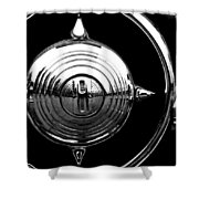 Grill Bullet 1949 Ford Custom V-8 Shower Curtain