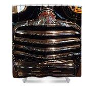 Grille 1947 Pontiac Shower Curtain
