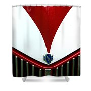 Grille And Logo Shower Curtain