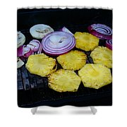 Grilled Veggies #1 Shower Curtain
