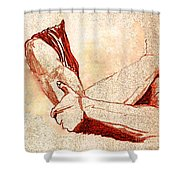 Grip By Jrr Shower Curtain