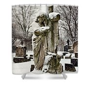 Grip Of Winter Shower Curtain