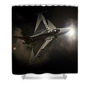 Gripen Light Shower Curtain
