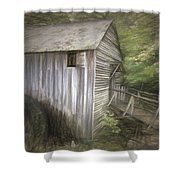 Grist Mill At Cades Cove Shower Curtain