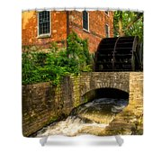 Grist Mill Shower Curtain by Thomas Woolworth