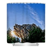 Grizzly Peak Shower Curtain