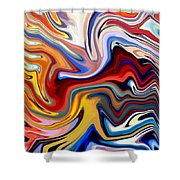 Groovalicious Shower Curtain