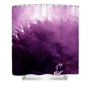 Grooved Shower Curtain
