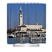 Grosse Point Yacht Club Shower Curtain