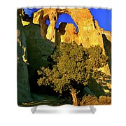 Grosvenor Arch At Sunset Shower Curtain