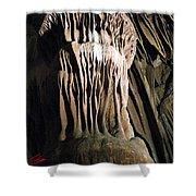 Grotte Magdaleine South France Shower Curtain