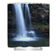 Grotto Falls Great Smoky Mountains Shower Curtain