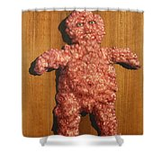 Ground Me Shower Curtain by James W Johnson