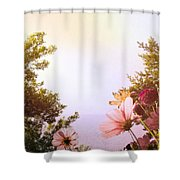 Ground View Shower Curtain