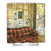 Front Porch - Ground Zero Blues Club Clarksdale Ms Shower Curtain