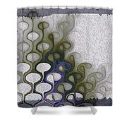 Group Discussion Shower Curtain