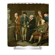 Group Of Connoisseurs Shower Curtain