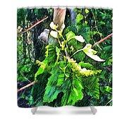 Grow Positively Shower Curtain