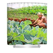 Growing Hope Shower Curtain