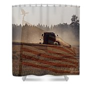 Grown In America Shower Curtain