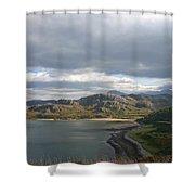 Gruinard Bay Shower Curtain
