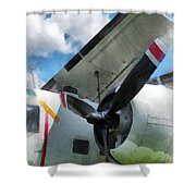 C-1a Trader Shower Curtain