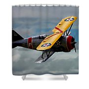 Grumman F3f-2 Shower Curtain