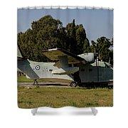 Grumman Hu-16 Albatros Of The Hellenic Shower Curtain