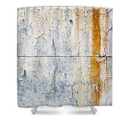 Grunge Concrete Texture Shower Curtain