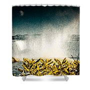 Grunge Niagara Shower Curtain