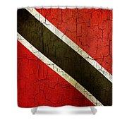 Grunge Trinidad And Tobago Flag Shower Curtain