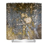 Grungy Cement Wall Shower Curtain
