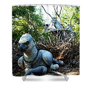Gryffin Shower Curtain