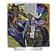 Gsxr Color Shower Curtain