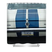 Gt 350 Mustang Shower Curtain