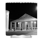 Gt Town Hall Shower Curtain