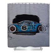 Gt40 Project Shower Curtain