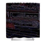 Gto Car Art Shower Curtain