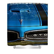 Gto In Blue Shower Curtain