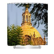 The Grand Cathedral Of Guadalajara, Mexico - By Travel Photographer David Perry Lawrence Shower Curtain