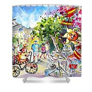 Guadalest 02 Shower Curtain
