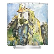 Guadalest 04 Shower Curtain
